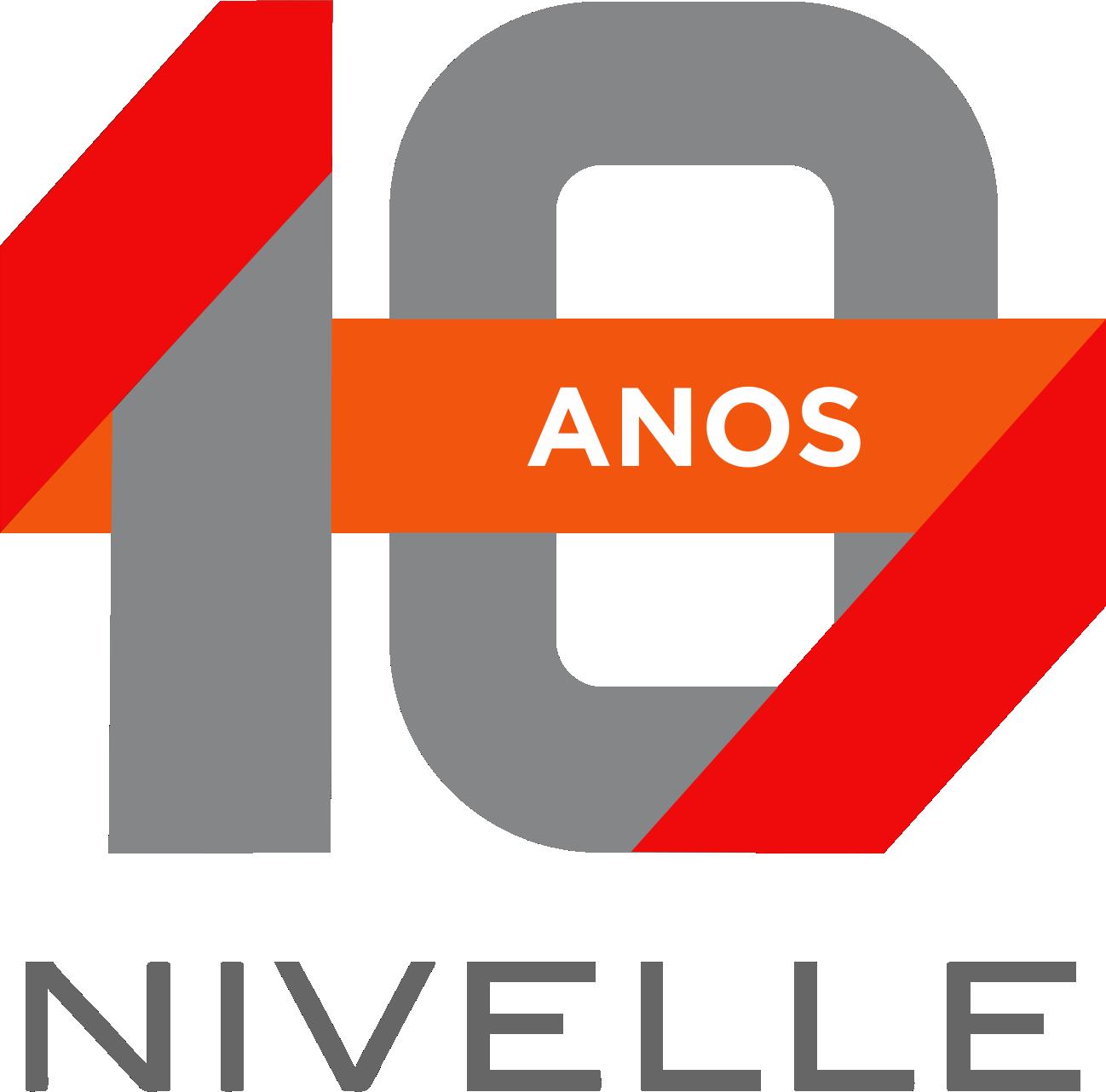 LOGO - 10 ANOS - NIVELLE