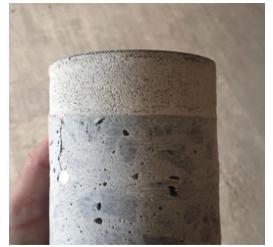 Perfil da Argamassa Autonivelante sobre base de concreto